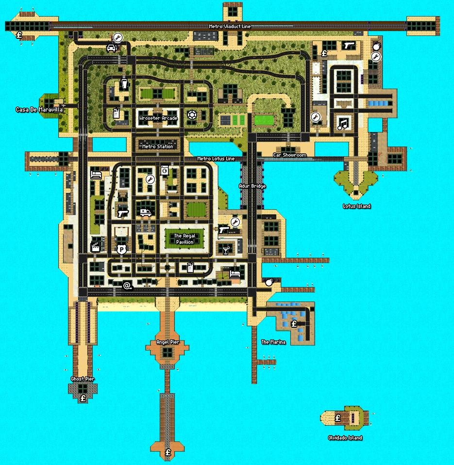 Pavilion City Map